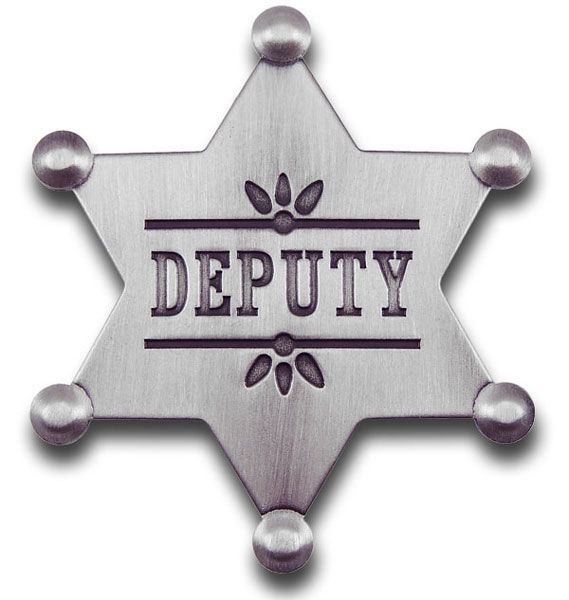 Deputy Star Badge.