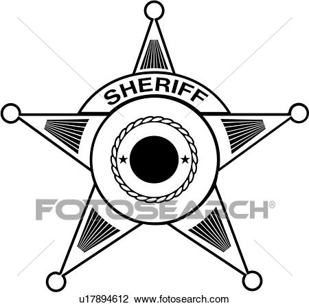 , badge, cop, department, deputy, emergency, emergency services,  enforcement, law, law enforcement, police, service, sheriff, badges, Clipart.