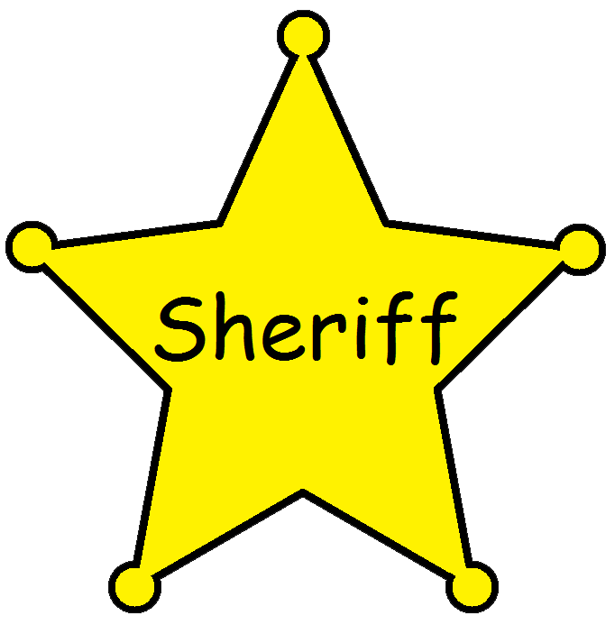 Deputy Badge Clipart.