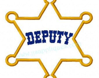 Deputy badge clipart Transparent pictures on F.