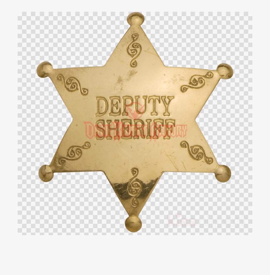 Badge, Police, Metal, Transparent Png Image & Clipart.
