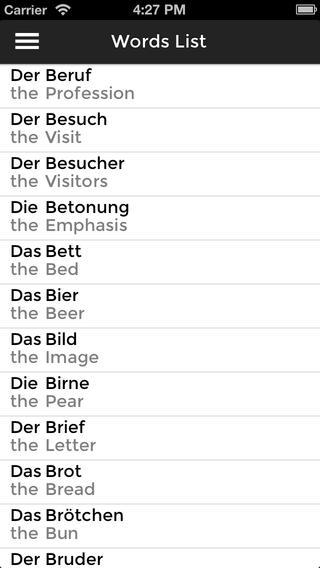 Learn German Nouns Der Die Das on the App Store.