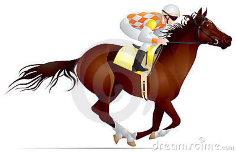 race horse clip art.