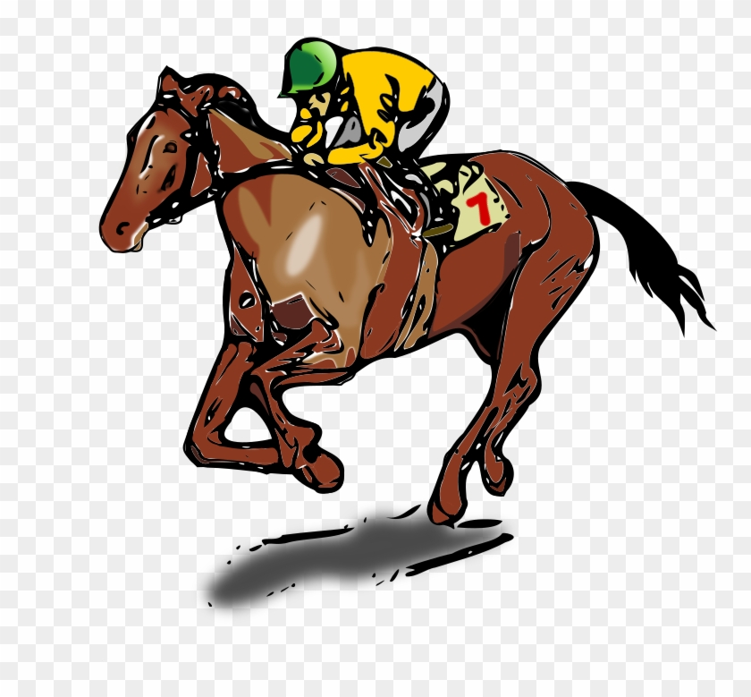 Kentucky Derby Horses Clip Art , Png Download.