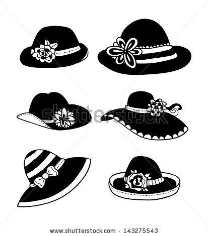 kentucky derby hat clip art.