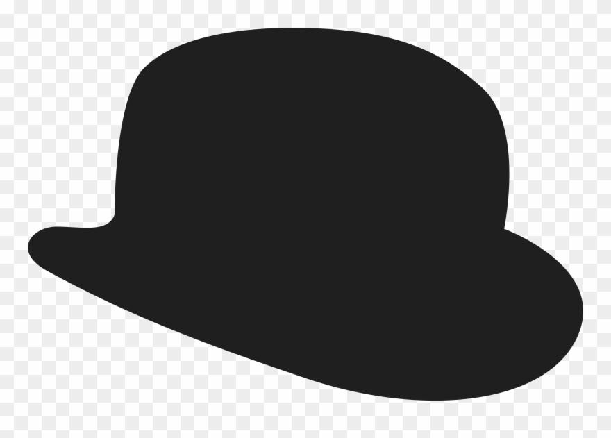 Bowler Hat Clipart.