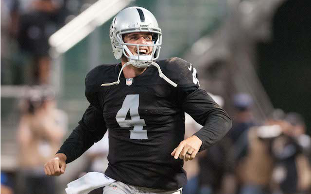 Dennis Allen: Raiders QB Derek Carr will start over Matt Schaub in.