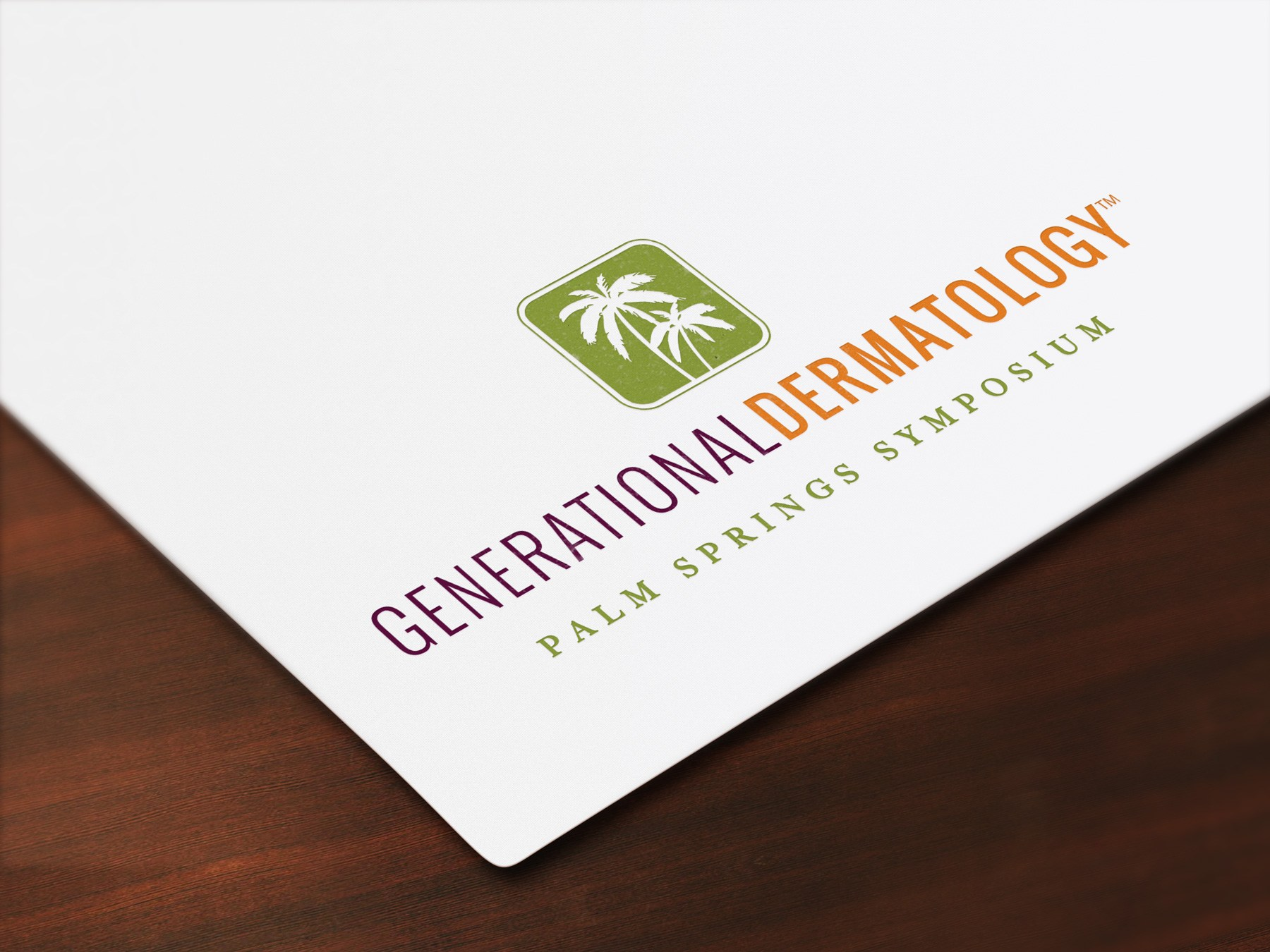 Generational Dermatology Logo.