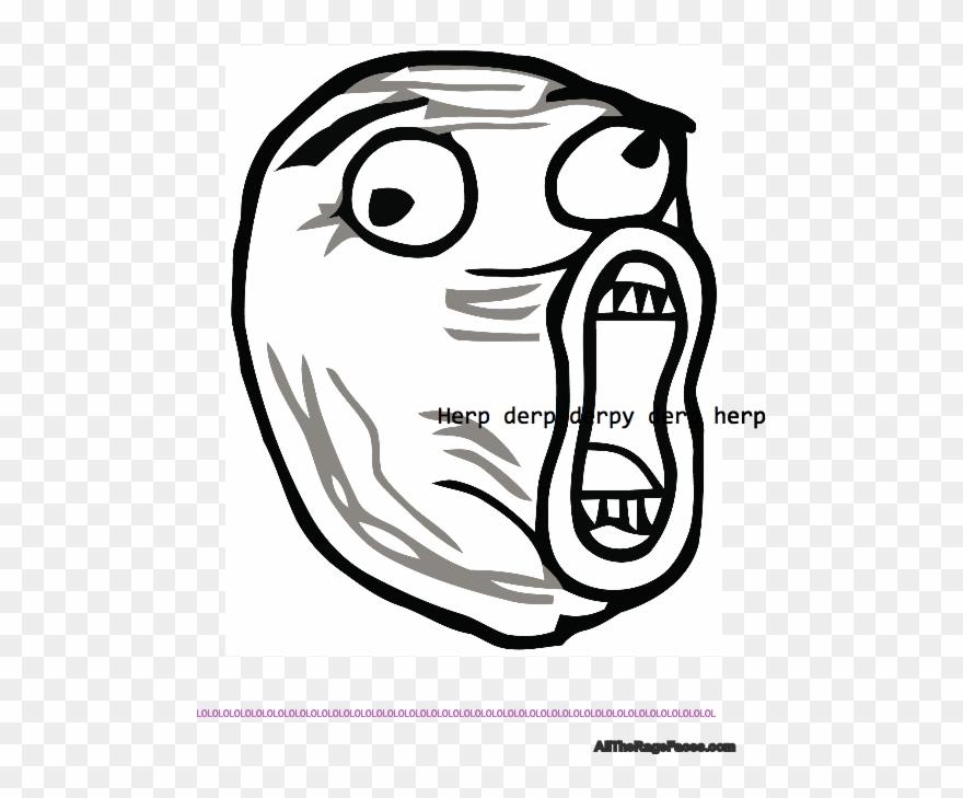 Derpy Meme Face Lol Clipart.