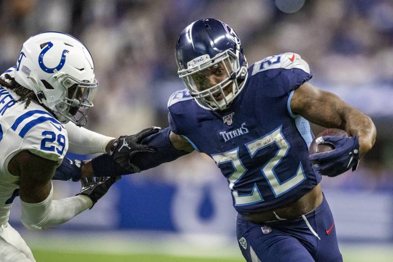 Report: Derrick Henry, Titans Haven\'t Discussed New Contract.