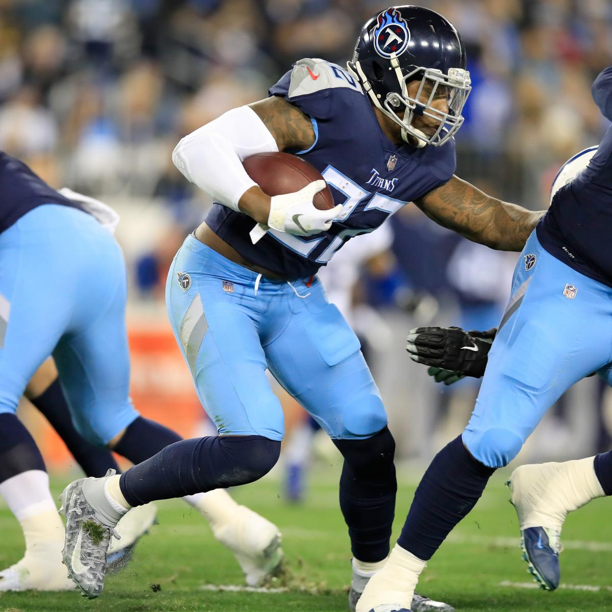 Titans\' Derrick Henry Out vs. Saints with Hamstring Injury.