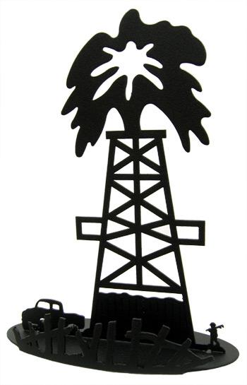 Oil Derrick Clipart.