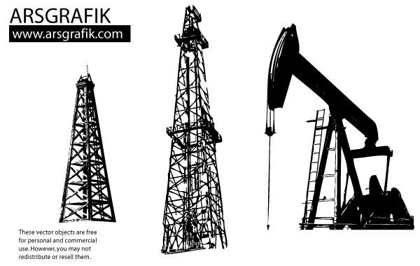 Oil derrick clip art.