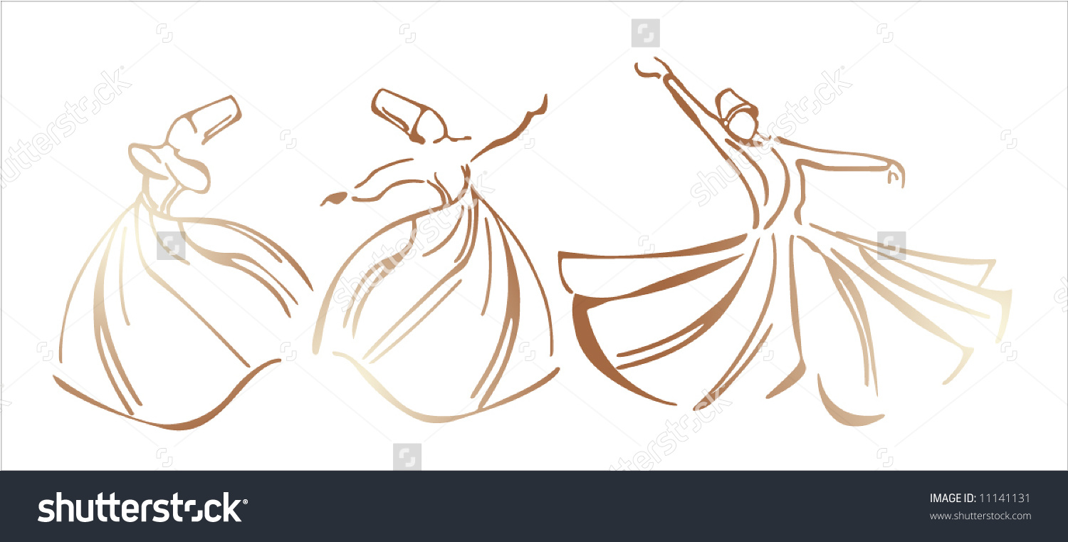 Whirling Dervish Stock Vector 11141131.
