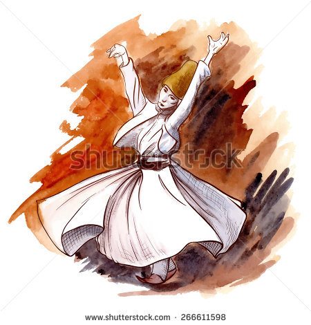 Whirling Dervish Stock Photos, Royalty.