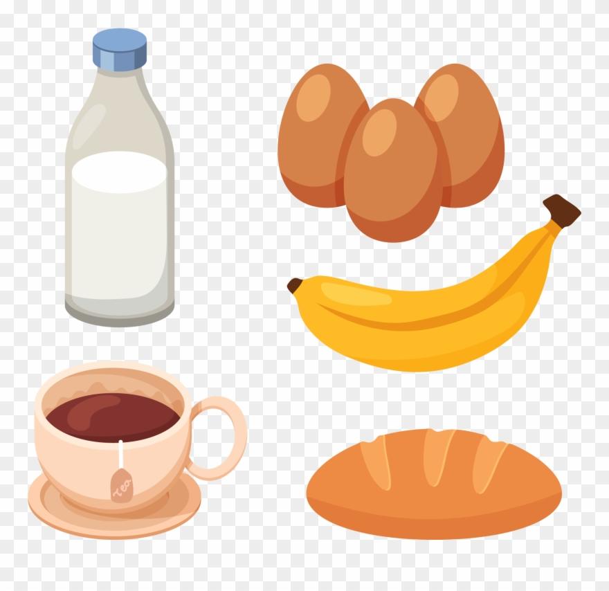 Milk Breakfast Health Egg.