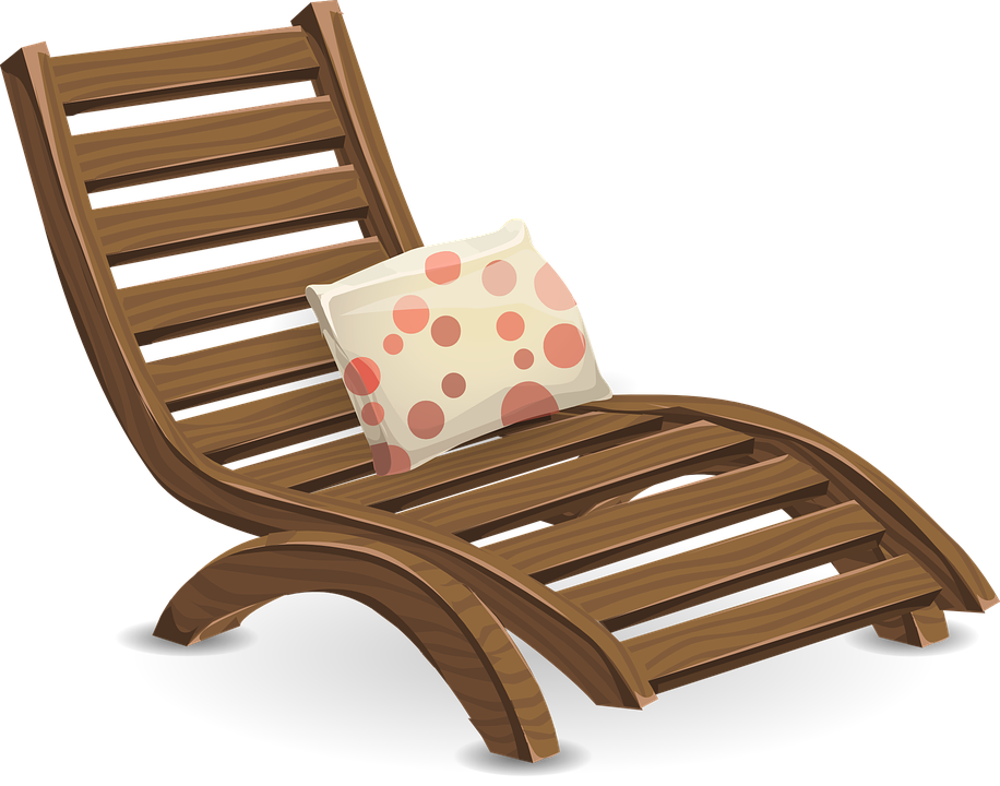 Furniture clipart lounge chair, Furniture lounge chair.