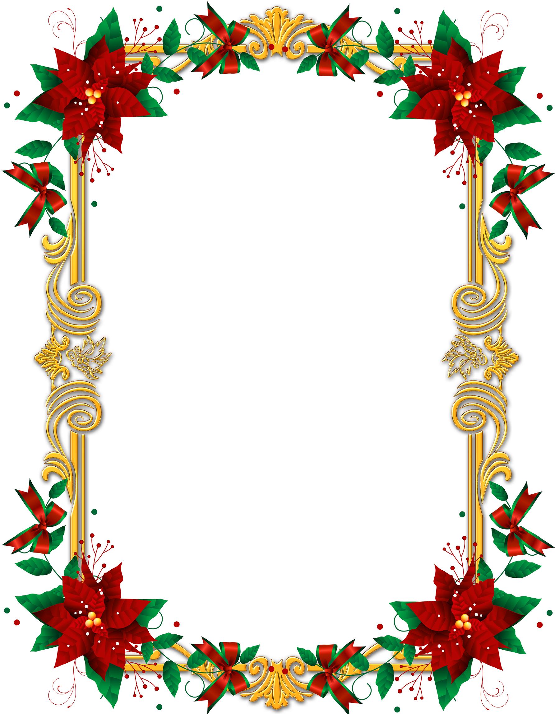 Marcos de navidad para editar en Photoshop gratis (1.