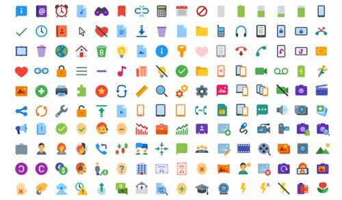 Grandes paquetes de iconos gratuitos que todo diseñador debería tener.