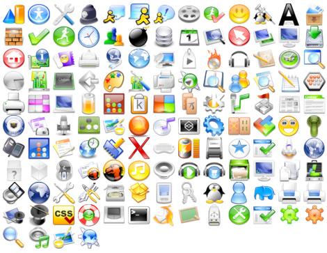 Galería de iconos para descargar.