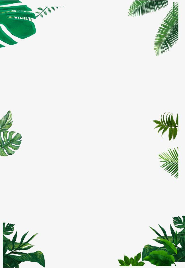 Simple Border, Green, Vector Border PNG Transparent Clipart.