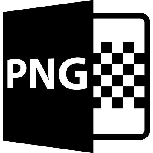 Png símbolo formato variante.