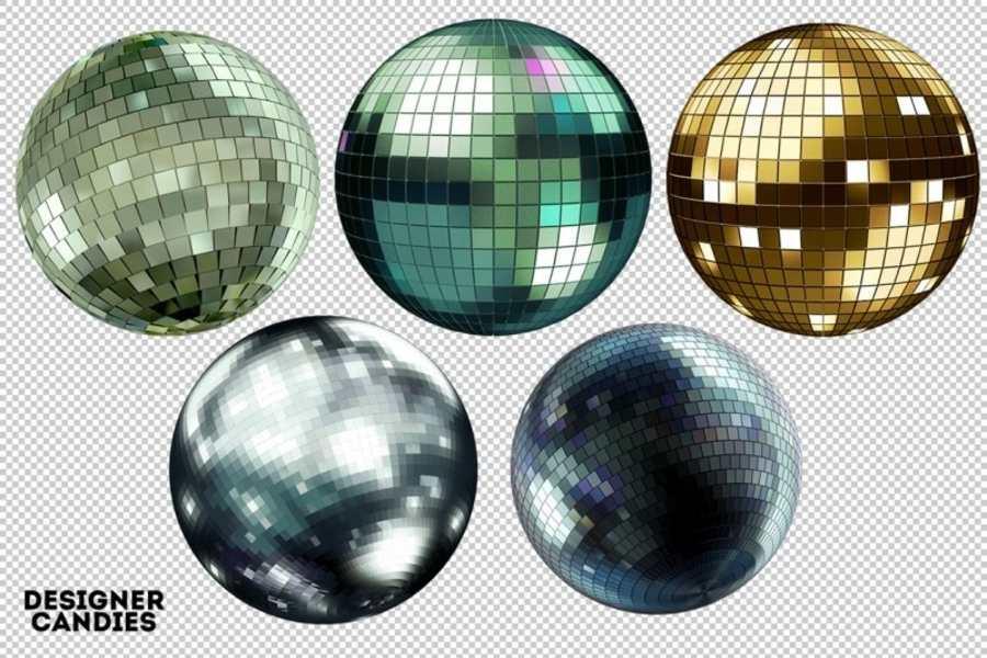 Paquete de bolas de disco para descargar gratis.