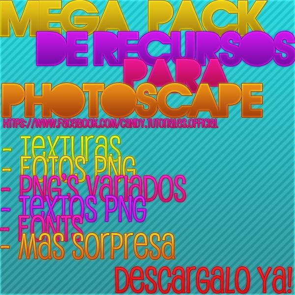 Mega Pack De Recursos Para PhotoScape by CandePhotoScape on DeviantArt.