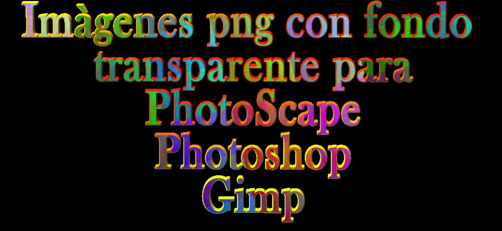 COSAS PARA PhotoScape.