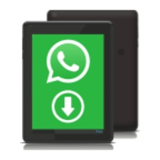 Download Whatsapp on Tablet 7.8 para Android.
