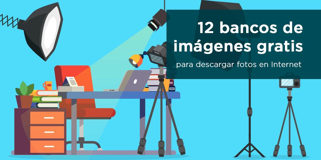 12 mejores bancos de imágenes gratis para descargar fotos en Internet.