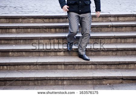 Descend Stairs Stock Photos, Royalty.