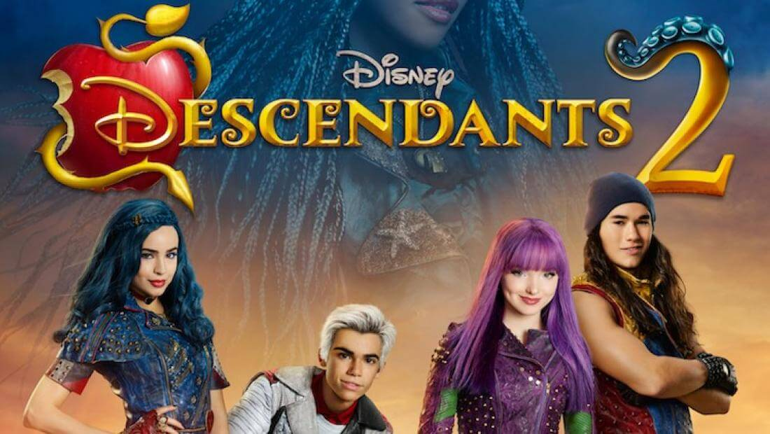 Descendants 2 Coloring Pages Free.