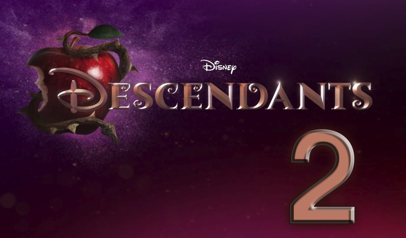 Descendants 2 Logo wallpaper HD 2016 in Movies.