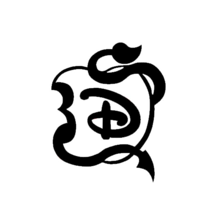 Descendants apple Logos.
