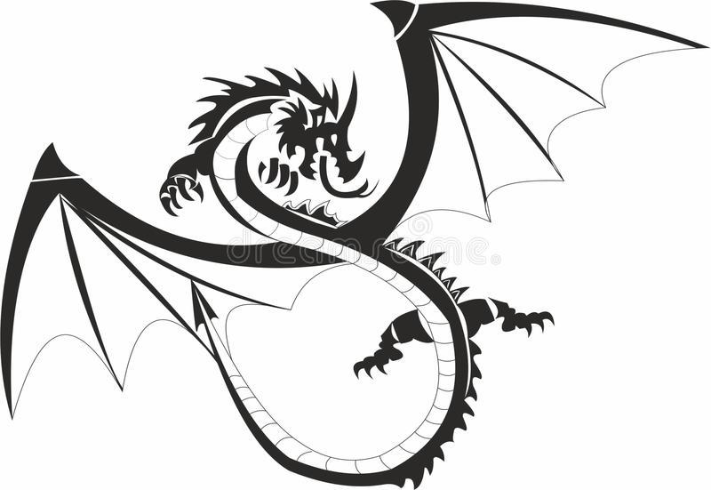 Descendants Dragon Stock Illustrations.