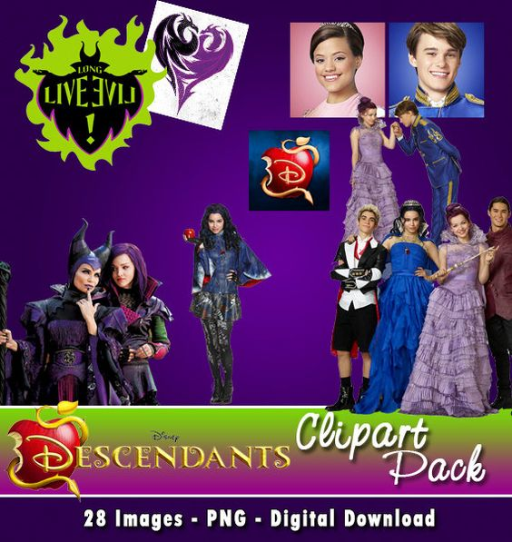 descendants evie clipart #6