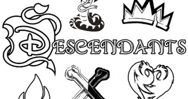Dibujos Para Colorear De Los Descendientes Disney: Descendants Evie Clipart