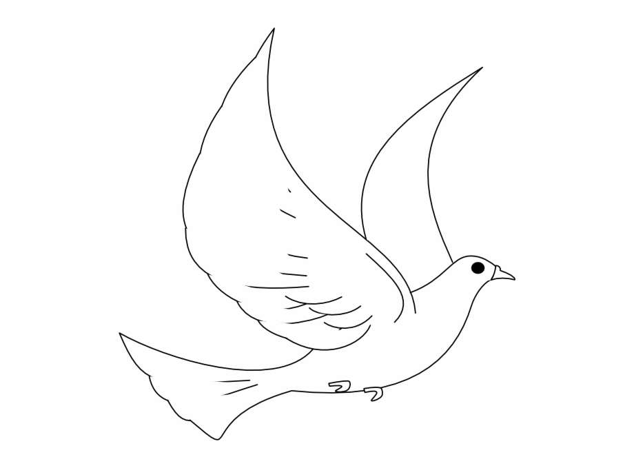 Turtle Dove Clipart Peace Sign Descending Dove Clipart.