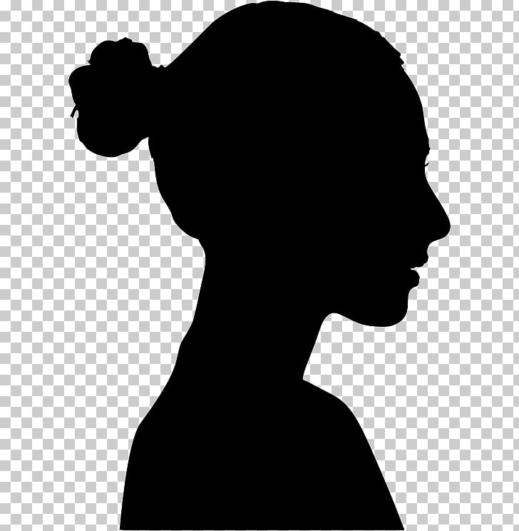 Silhouette , description PNG clipart.