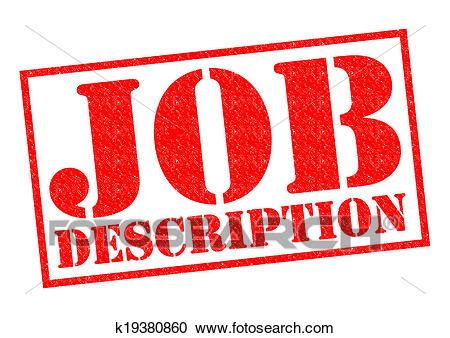 JOB DESCRIPTION Clipart.