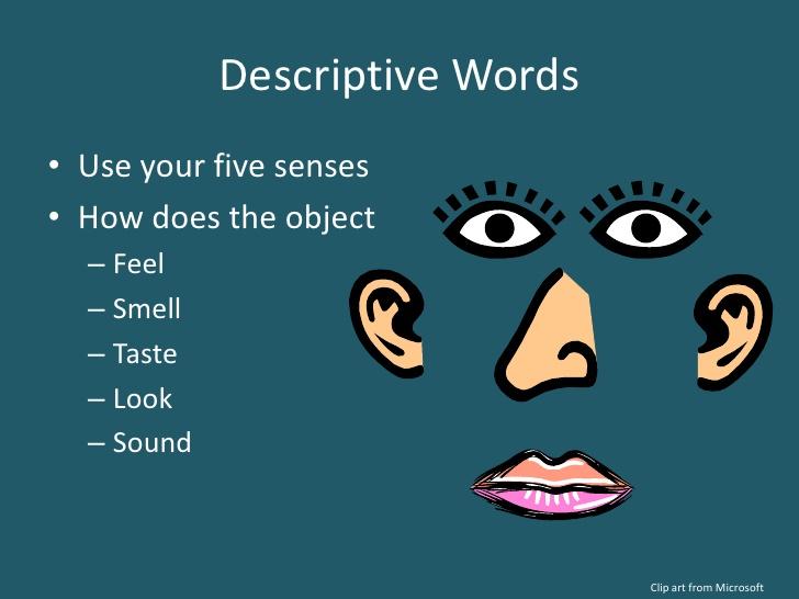 descriptive clipart