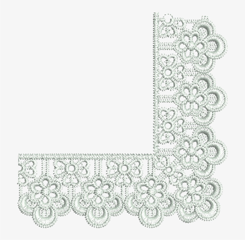 Page 11 White Lace Border Png.