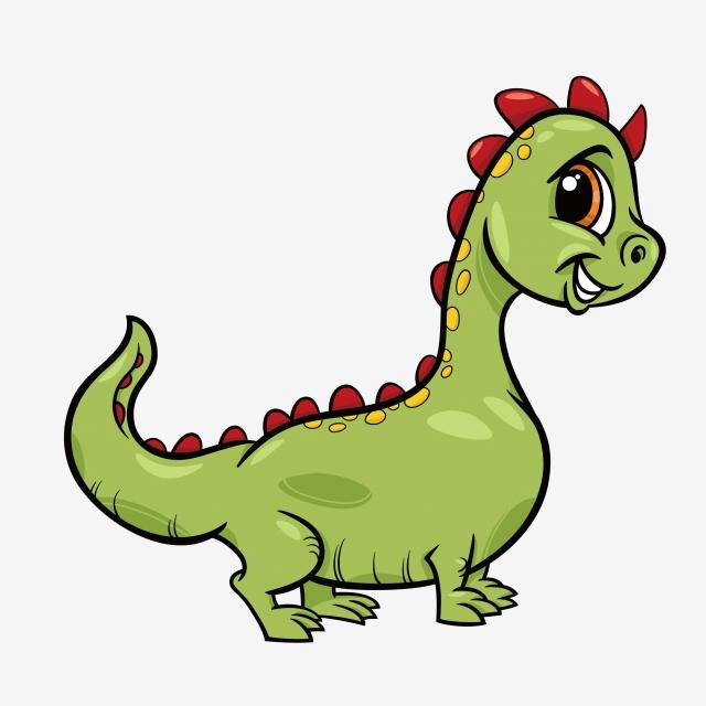 Desenho Dinossauro OS Dinossauros Color Dinossauro Verde PNG Imagem.