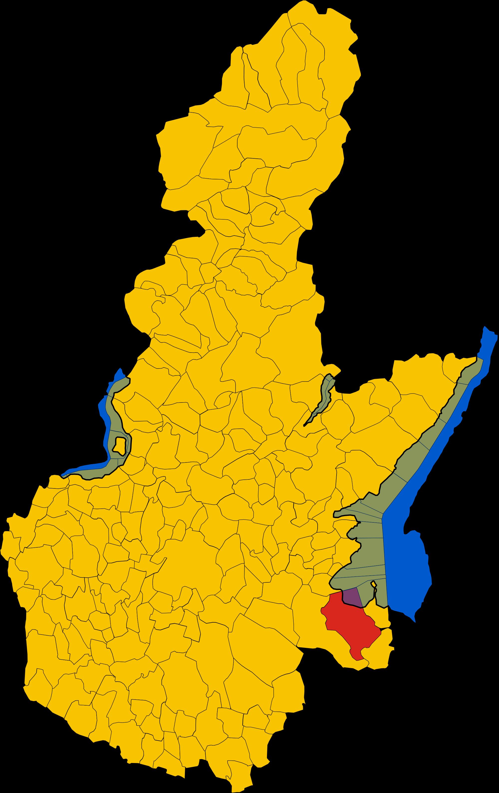 File:Map of comune of Desenzano del Garda (province of Brescia.