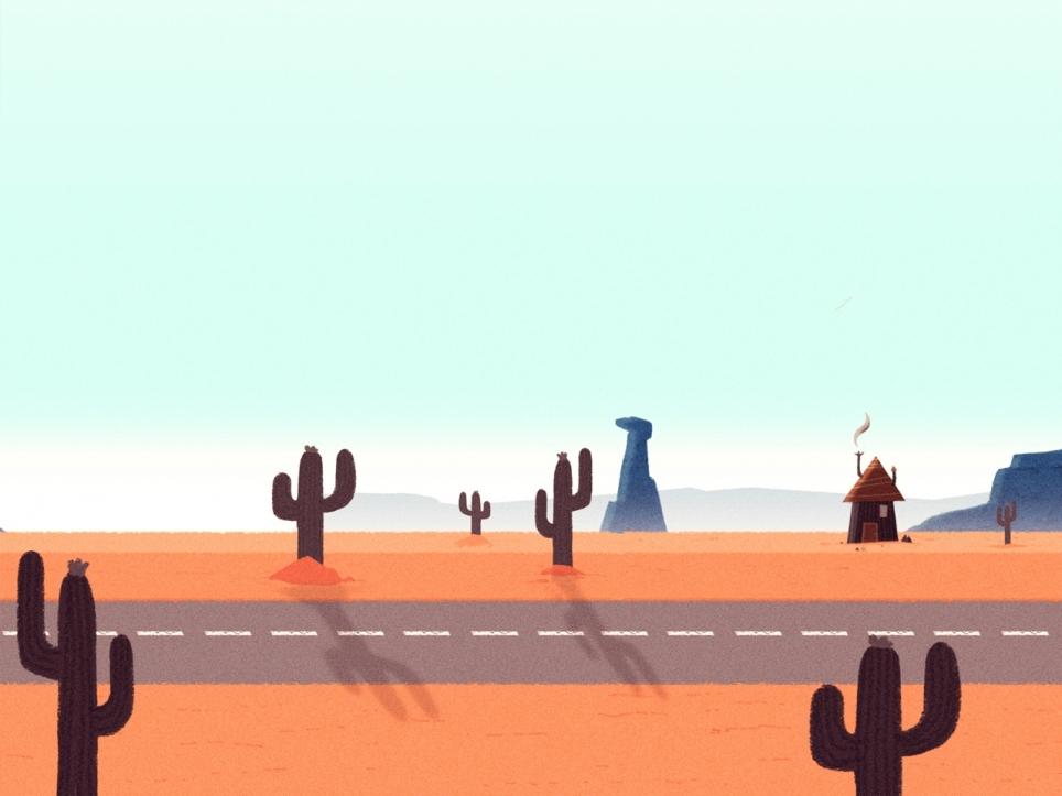 Free Cartoon Desert Background, Download Free Clip Art, Free Clip.
