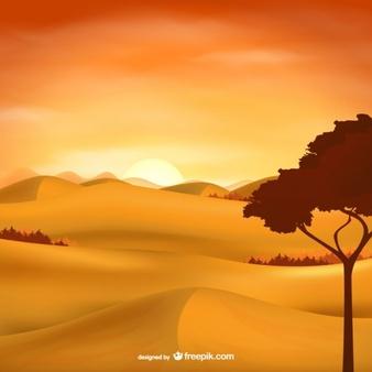 Desert Vectors, Photos and PSD files.