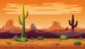 Background Desert Stock Illustrations.