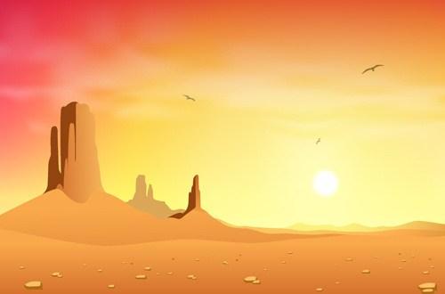 Desert background clipart 6 » Clipart Portal.