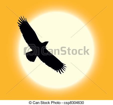 Vector Clipart of Desert eagle.